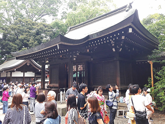 Main Hall - Honden at Hikawa Shrine