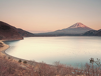 Lake Motosu Fuji Five Lakes
