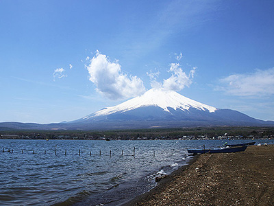 Lake Yamanako Near Mt. Fuji