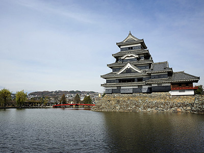 Matsumoto Castle In The Nagano Prefecture