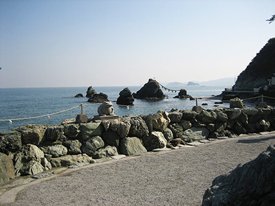 Meoto Iwa Wedded Rocks