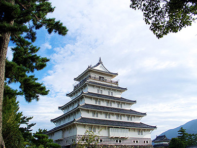 Shimabara Castle In The Nagasaki Prefecture