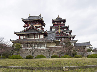 Fushimi Castle in Kyoto