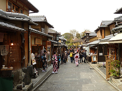 Higashiyama District in Kyoto