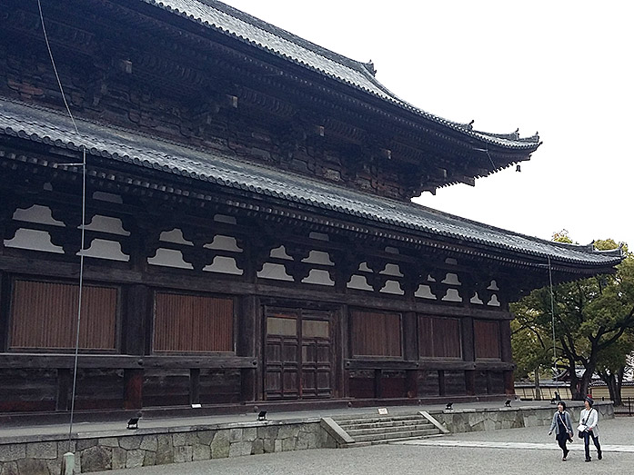 Kondo (Main Hall) Toji Temple in Kyoto