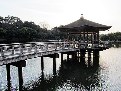 Ukimido Gazebo in Nara
