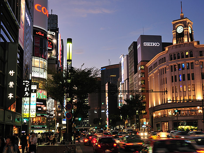 Ginza Tokyo Travel Tips Japan Travel Guide
